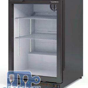 ثلاجة ميني بار باب واحد Black Colour Back Bar Cooler Energy Saving 1 door
