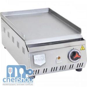جريل سادة يعمل على الكهرباء 31سم Electric Full Flat Cast Iron Grill 31 cm