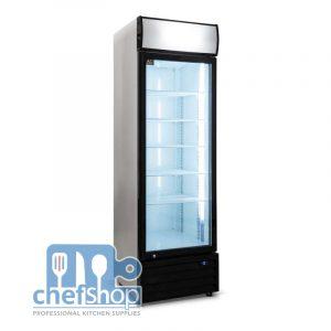 380 Liter Single Door Upright Display Fridge - Glass Door