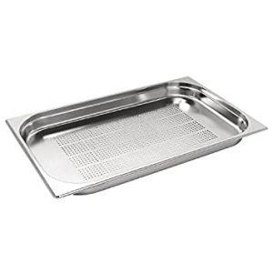 جاط مصفاية 1/1 عمق 6 سم Gastro norm Pan perforated Stainless Steel 1/1 d 6 cm