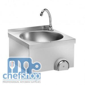 مغسلة ايدي تعمل عن طريق الركبة knee operated hand wash sink