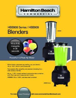خلاط صناعي HBB908 Heavy duty Bar blinder HBB908