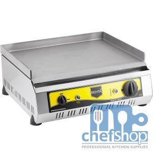 جريل سادة يعمل على الكهرباء 50 سم Electric Full Flat Cast Iron Grill 50 cm