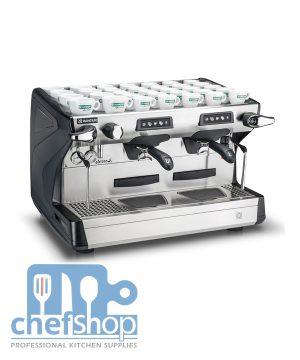 ماكنة اسبرسو 2 عين صناعية Classe 5 USB Tall Rancilio Classe 5 USB 2 G Tall Commercial Espresso Machine