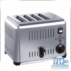 حماصة خبز توست كهربائيه 4 عيون 4 slice Commercial bread toaster ,Toasting Machine ,Baking toaster