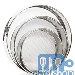 STAINLESS STEEL SEIVE SET :