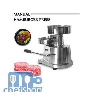 مكبس هامبرغر يدوي 15 سم HAMBURGER PRESS 15cm