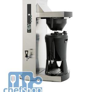 ماكنة صنع قهوه امريكيه و شاي صناعيه Single Tower شركة Coffee Queen السويدية Coffee Queen Tower