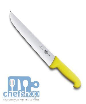 سكين لحام يد كربون سويسري 16 سم 5.5208.16 Victorinox Butcher knife SWS made 16 cm