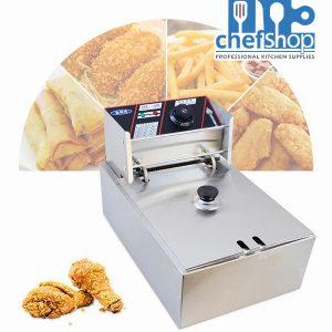 قلاية بروستد و بطاطا كهربائية 4.5 ليتر 2500W Hight Quality Nima factory deep fryer