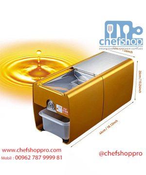 ماكنة لاستخراج الزيوت على الباردذهبي Home use mini oil cold press machine multi-functional oil extractor with