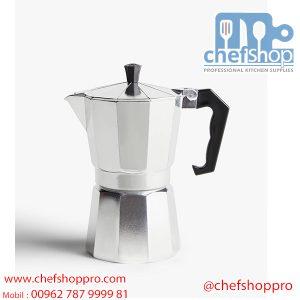 ابريق صنع القهوه الايطاليه – اسبرسو 3-Cup Espresso Maker – Silver