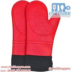 كفوف فرن حراريسيلكون Oven Gloves silicon
