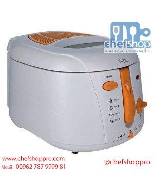 مقلاة عميقة من امجوي - 2.5 لتر - 2000 واط - UEDF-332 Emjoi Power Deep Fryer 2.5L, 2000w - UEDF-332