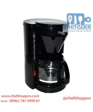 ماكينة تحضير القهوة من امجوي- اسود، UECM-351 Emjoi Coffee Maker 750W (UECM-231)
