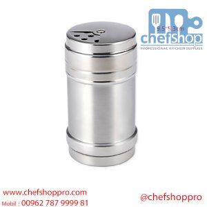 رشاشة بهارات200 جرام غطاء متحرك Stainless Steel Spice shaker