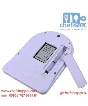 ميزان مطبخ الكتروني 10 كيلو - حساسية 1 جرام Digital kitchen scale 10 Kg Ac 1 gm