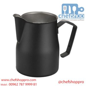 ابريق حليب صناعي 350 مل / اسود Black Professional milk jug Europa 35 cl