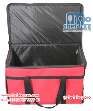 شنتة توصيل طلبات مع عزل داخلي Insulated Food Delivery Bag/Pan Carriers
