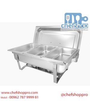 شيفنغ دش / بان ماري حفلات Chafing dish GN 1/1 with lid