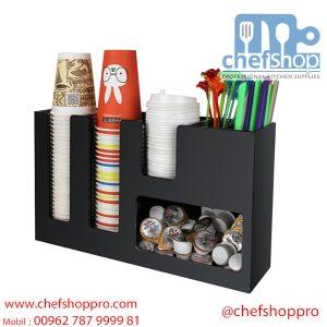 حمالة كاسات و اكواب اكرلك Cup & Lid Dispenser