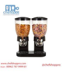 حافظة عرض كورن فليكس دبل/ اسود Double cornflakes dispenser :