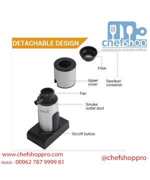 جهاز تدخين الطعام Food kitchen smoker infuser